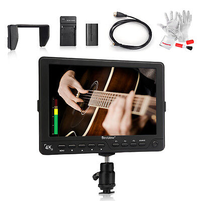 "Bestview S7 4K 7"" HDMI field monitor +Cable +Battery Charger +Battery Pack kit"