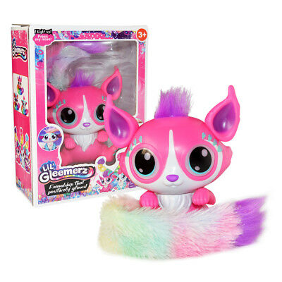 Mattel Lil' Gleemerz Doll Toy Fun Interactive Magical Painted Fox Tail Xmas Gift