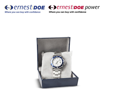 New Holland 3125475 Metal Wristwatch (Requires replacement batteries)