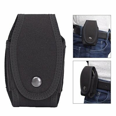 Military Handcuff Pouch Security Black Nylon Case Handcuff Holder With Belt Loop