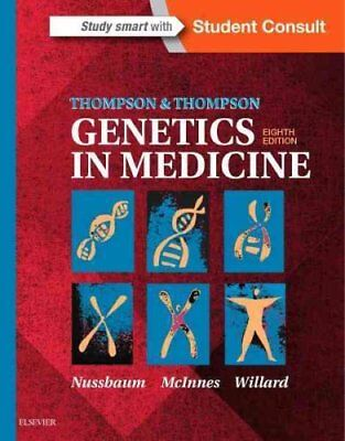 Thompson & Thompson Genetics in Medicine by Robert L. Nussbaum 9781437706963