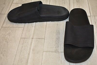 3cc390f1362 **UGG XAVIER LUXE Slide Sandals - Men's Size 10 - Black