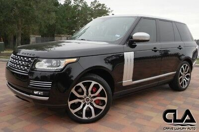 2013 Land Rover Range Rover  Range Rover HSE Supercharged Recent service CLA 281-651-2101