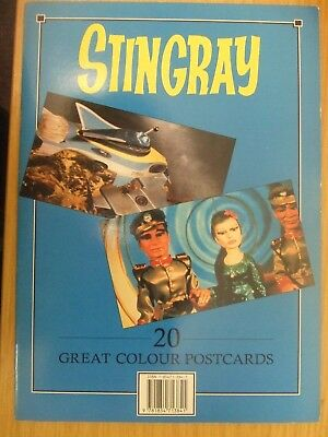 Stingray: 20 Great Colour Postcards: Gerry Anderson: Very Unusual Item: Look !!!