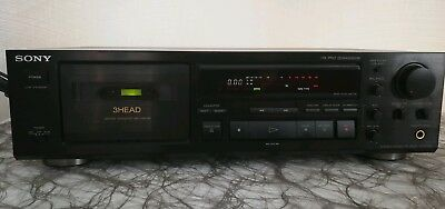 Sony TC- K 590 3 Head Stereo Cassetten Deck