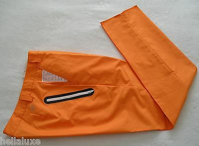 TOUR ED~Puma Golf DRIZZLE STORM CELL PANT tech WATER RESISTANCE Trousers~Mens 32