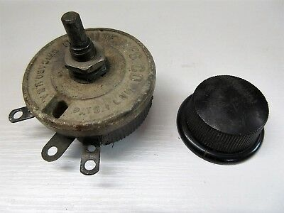 Ohmite Rhéostat 20 Ohm 2A 300V Chicago USA Old Stock (n°3)