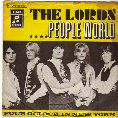 """The Lords """" People World / Four o'Clock In New York """" 7'-Single (1969)"""