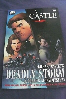 Marvel Comics Premiere Edition Castle  Deadly Storm Graphic Novel Hardback