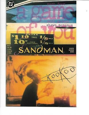 Sandman #35-37 (a game of you, parts 3-6 of 6) 1992, DC