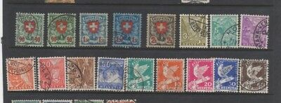 A very nice good Cat Value mixed Swiss group of issues