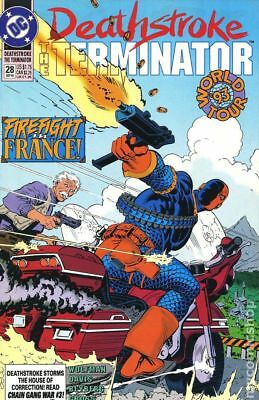 Deathstroke the Terminator #28 1993 VG Stock Image Low Grade