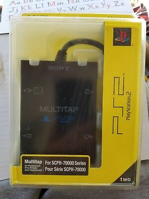 Genuine Sony PS2 Playstation 2 Multitap Controller SCPH-70000 NEW Sealed OEM
