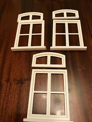 1:12th Scale Miniature Dolls House Window Frames 3