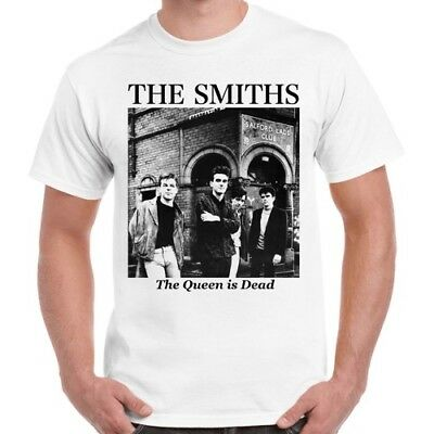 The Smiths The Queen Is Dead Rock Band Cool Vintage Retro Vintage T Shirt 347