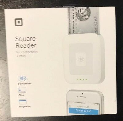 NEW Square Reader Contactless Chip Magstripe Accept Payments Everywhere!