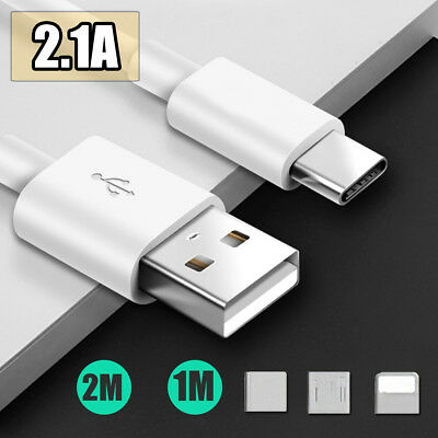 Cavo dati Micro USB tipo C caricabatterie rapido per Android Samsung HTC Huawei