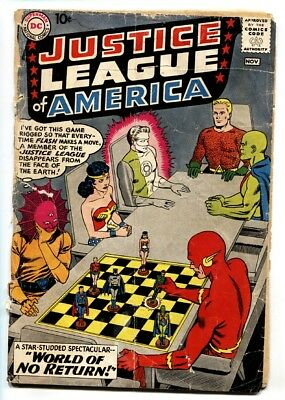 Justice League of America #1 1st issue-DC KEY-Silver-Age comic bargain
