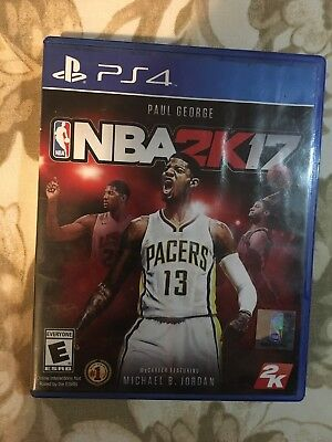 3e6df8b8bbae NBA 2K17 PAUL George Playstation 4 Video Game PS4 -  9.49