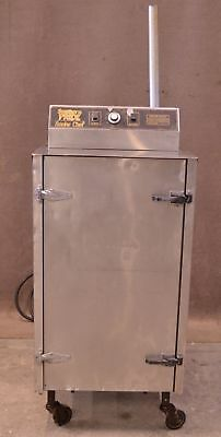 Southern Pride Stainless Steel SC-200-SM Smoke Chef Electric Smoker 200lb