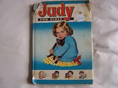 JUDY FOR GIRLS 1962 - Hardback with Dustwrapper