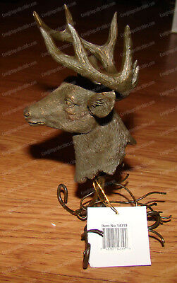 Bronzed Buck Deer Tealight (Wildlife Collection by Westland, 14319)