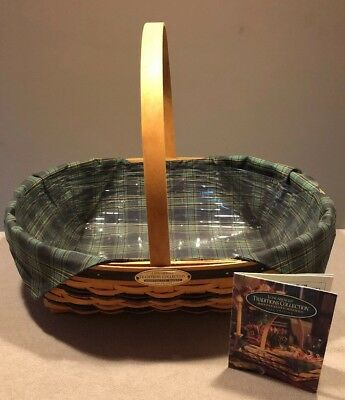 Longaberger 1998 Traditions Collection Hospitality Basket Combo ~Excellent!!