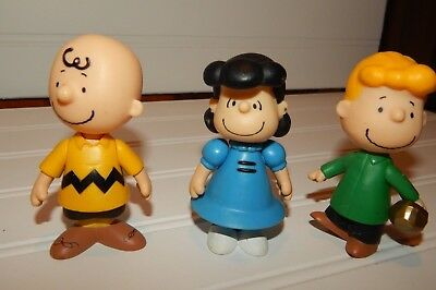 Peanuts Gang Charlie Brown++ Figurine Toy PVC Figure Cake Topper Snoopy Friends