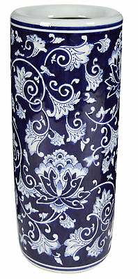 AB Home Aline Umbrella Stand in Blue Finish AV69760