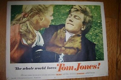 """Tom Jones"" (1964), two original 11x14 lobby cards with Albert Finney & others"