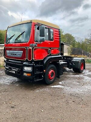 ERF ECT MAN tractor unit, cummins engine. ideal export or breaker.