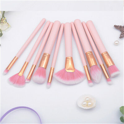 4/10pcs Pro Makeup Brushes Set Foundation Powder Blush Beauty Cosmetic Brush S