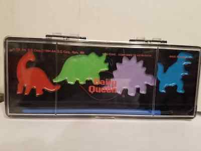 Rare Dairy Queen 1994 Dinosaur Paint Set Rare New [LOOK]