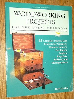 WOODWORKING PROJECTS for the great outdoors - 42 Complete Step-By-Step Project