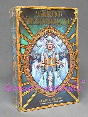 TAROT ILLUMINATI Card Deck & Book Set - by Huggens & Dunne - NEW