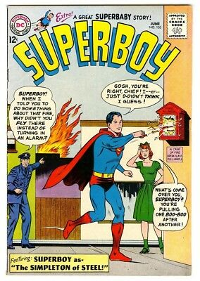 Superboy #105 (1963) F/VF New DC Silver Age Collection