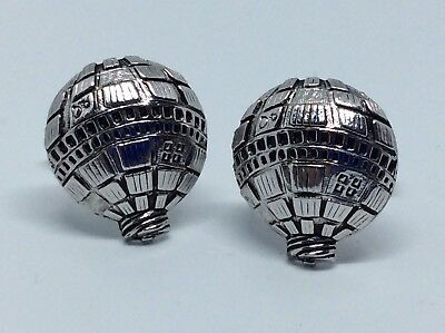 Fun Vintage 1960's Novelty Cufflinks HOT AIR BALLOON - Ballooning