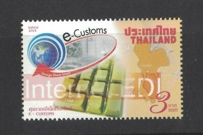 2004 Thailand E- Customs SG 2594 MUH