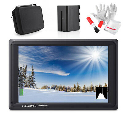 Feelworld FW279S 7'' IPS 2200nit Daylight Viewable Field Camera Monitor+ Battery