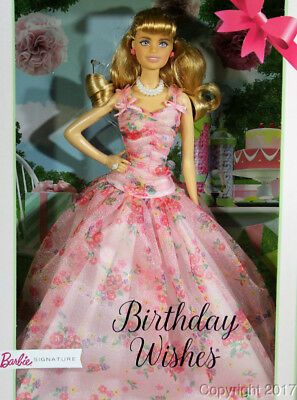 2018 Birthday Wishes Barbie Doll FXC76 IN STOCK NOW!
