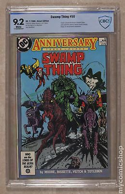 Swamp Thing (2nd Series) #50 1986 CBCS 9.2