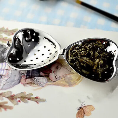 1pc Stainless Steel Loose Tea Infuser Leaf Strainer Filter Diffuser Herbal Spice