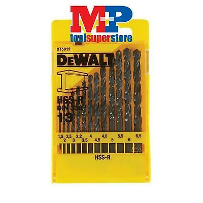Dewalt Dt5912 Hss Metal Drill Bit Set  In Case 1.5-6.5Mm In Case
