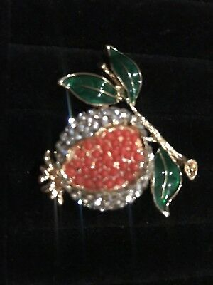 brooch Vintage pomegranate
