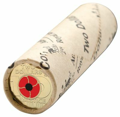 2018 Australia $2 Remembrance Day - Armistice Centenary Coins In Official Roll
