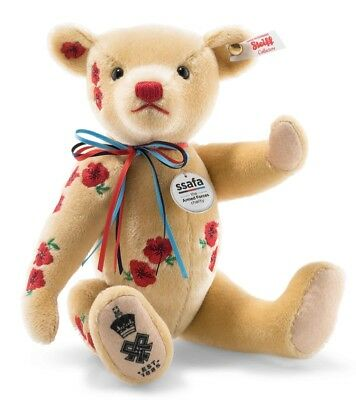 Steiff Armistice Teddy Bear limited edition charity collectable - 690549 - BNIB