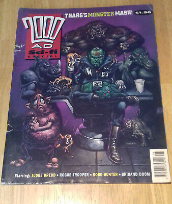 2000ad Sci Fi Summer Special 1991 UK Comics