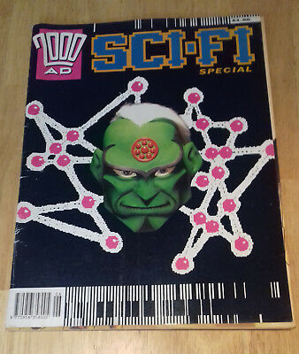 2000ad Sci Fi Summer Special 1992 UK Comics