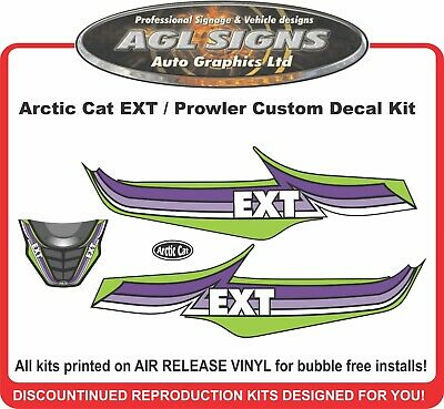 ARCTIC CAT  EXT  Decal kit graphic aftermarket