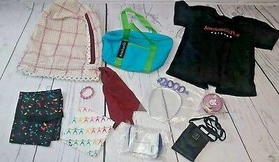 RETIRED Pleasant Company American Girl Lot (Doll Clothes and Accessories)